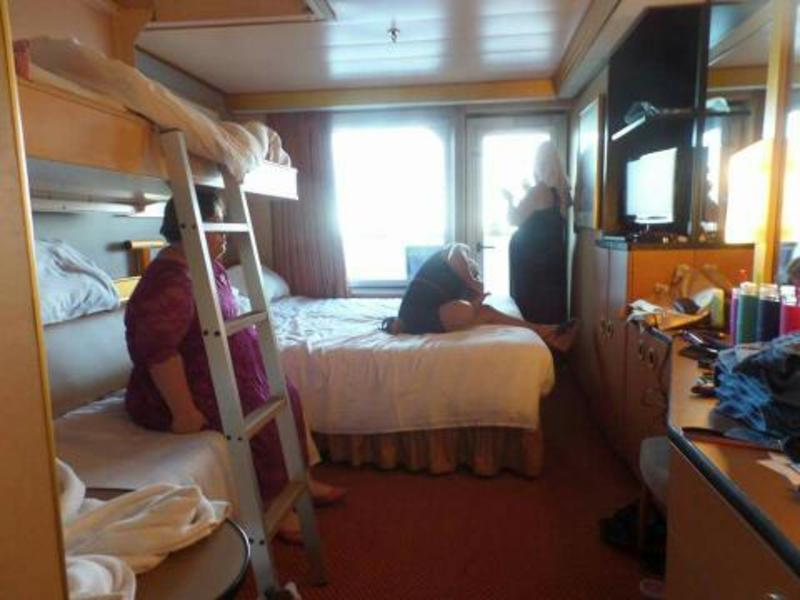 Balcony Cabin 1064 On Carnival Triumph Category 8f