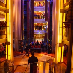 Grand Foyer on Celebrity Eclipse
