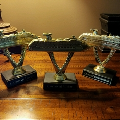 collection, The Dream, Valor(x4) and Fascination