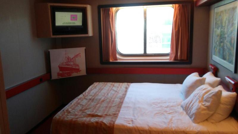 Oceanview Stateroom on Carnival Paradise