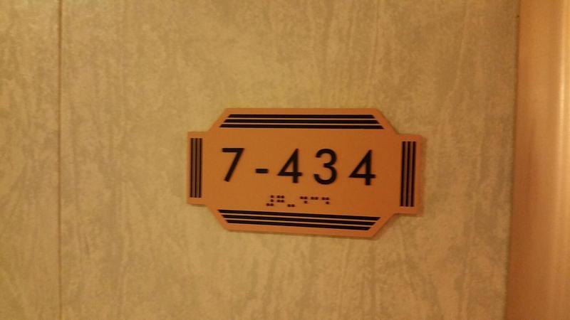 Carnival Valor cabin 7434