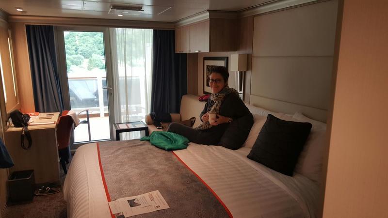 Balcony Cabin 4035 On Koningsdam Category Yq