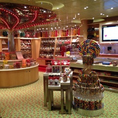 The Fun Shops on Carnival Sunshine