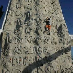 Rock Climbing Wall on Serenade of the Seas
