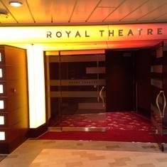 Royal Theatre on Quantum of the Seas