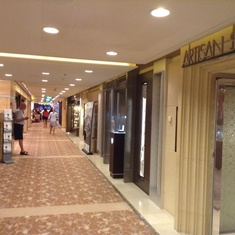 Shops on the Boulevard on Celebrity Solstice