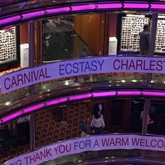 Guest Services/Shore Excursions on Carnival Ecstasy