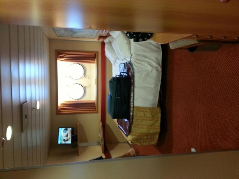 Carnival Fantasy cabin E7