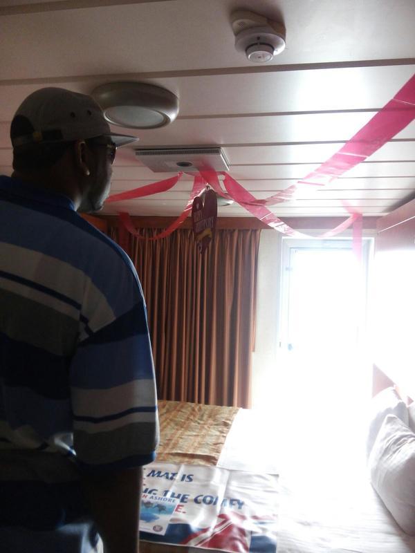 Carnival Sensation cabin E233