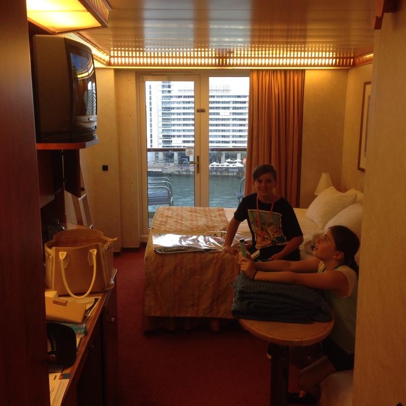 Balcony Cabin 8150 On Carnival Legend Category 8k