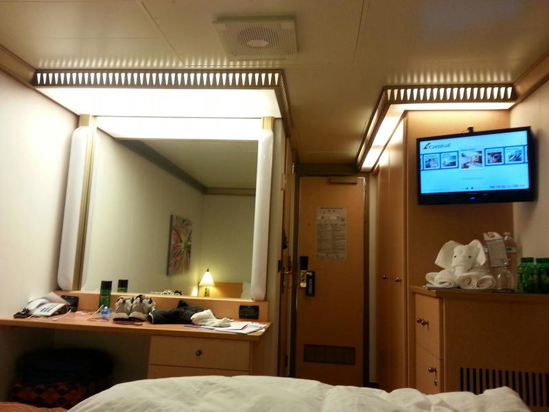Inside Cabin 7315 On Carnival Magic Category 4f