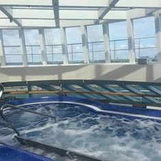 Thalasso Pool on Carnival Breeze