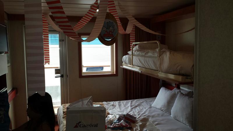 Carnival Sensation cabin M106