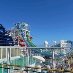 Free Fall on Norwegian Getaway