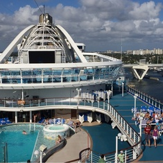 Calypso Reef And Pool on Caribbean Princess