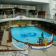 Terrace Pool on Star Princess