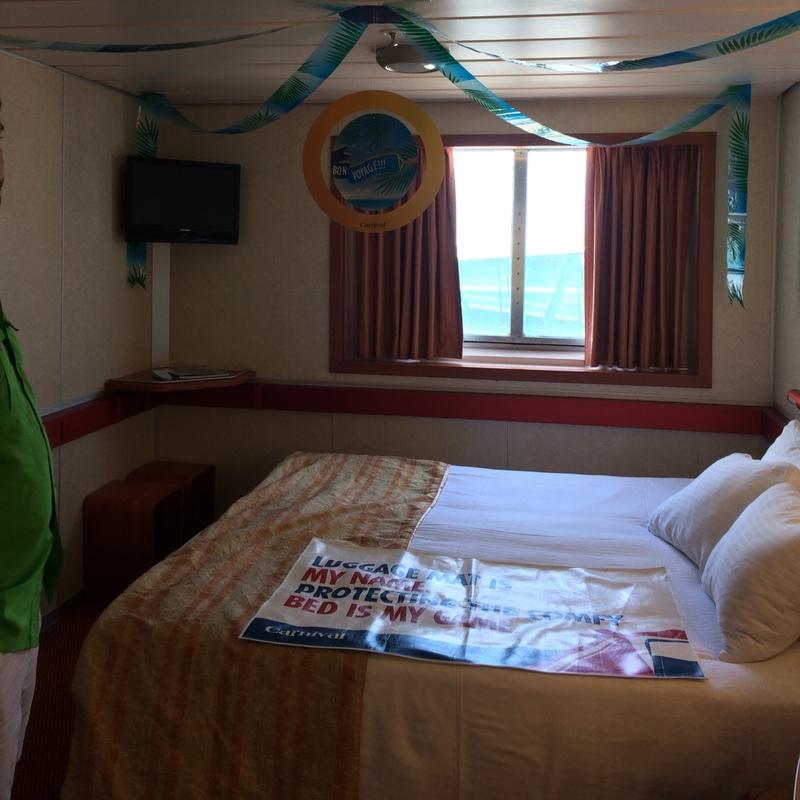 Carnival Sensation cabin E78