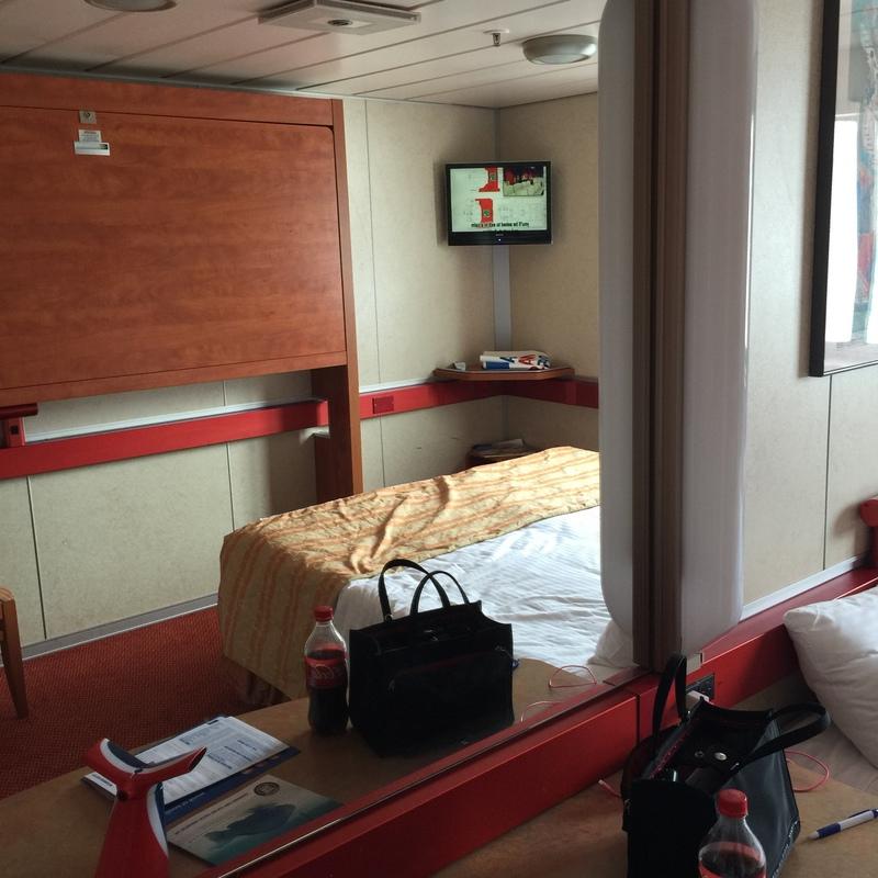 Oceanview cabin m192 on carnival sensation category 6c for Carnival sensation interior rooms