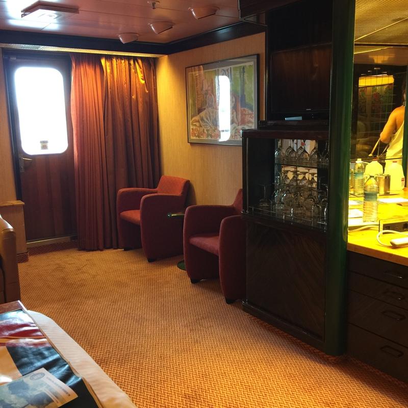 Carnival Elation cabin U84