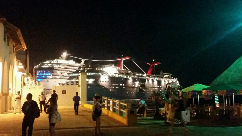 Cozumel, Mexico - Going back to the ship in Cozumel