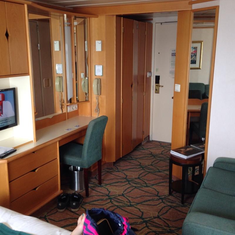 Grandeur of the Seas cabin 3122