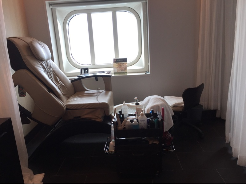 Beauty Salon on Royal Princess