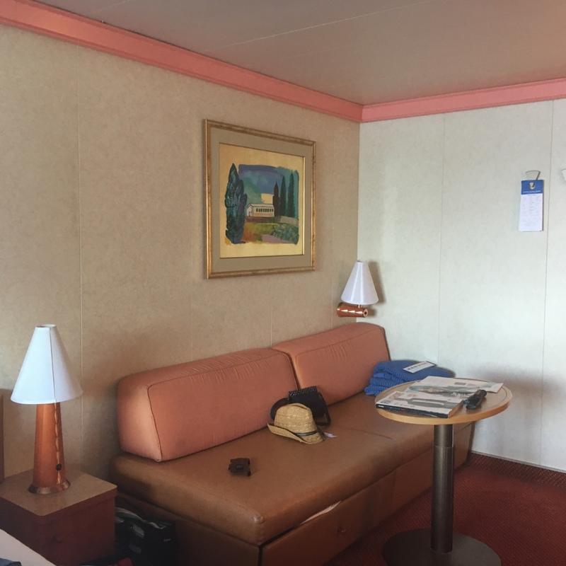 Carnival Conquest cabin 1386