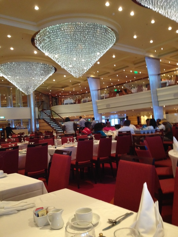 Carnival Breeze-Blush Dining Room - Carnival Breeze