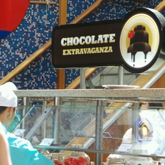 Red Sail Restaurant on Carnival Glory