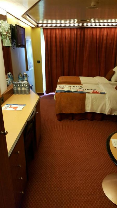 Carnival Dream cabin 12219