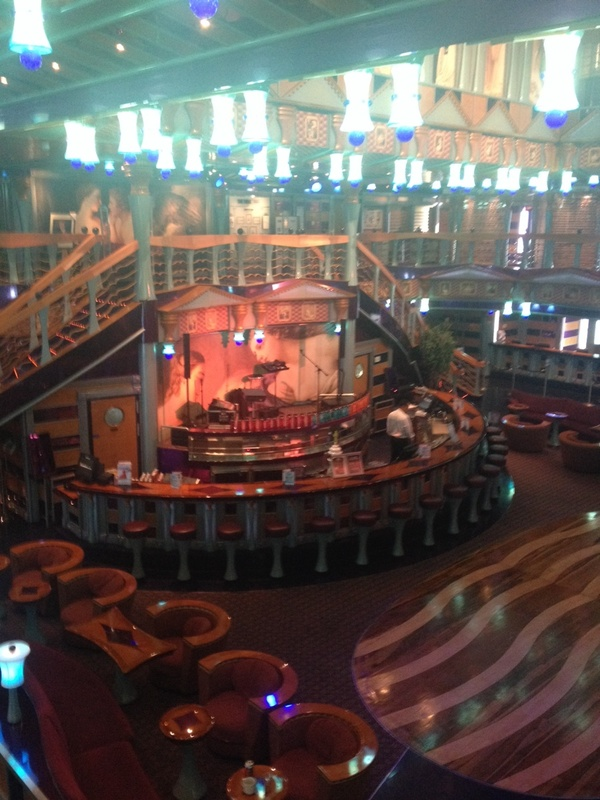 Bar on Carnival Miracle