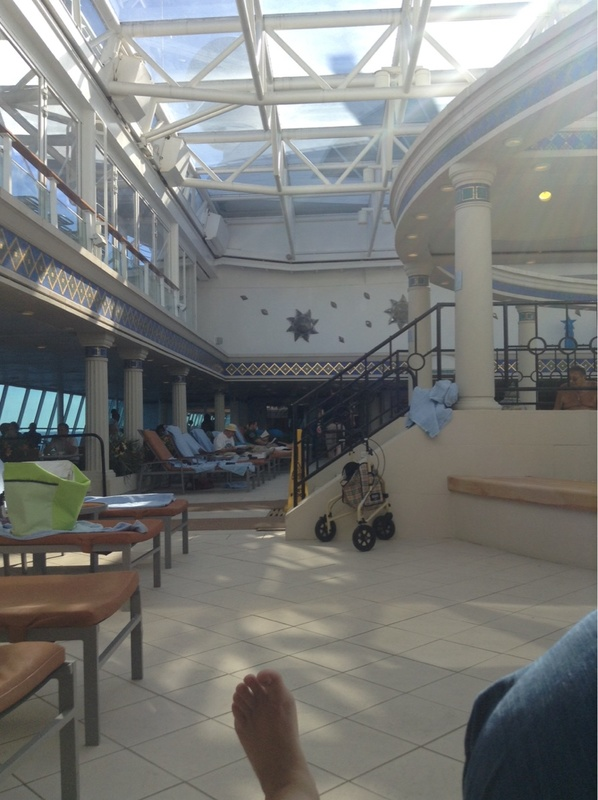 Solarium on Grandeur of the Seas