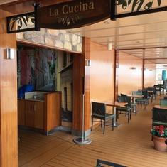 La Cucina on the Waterfront on Norwegian Breakaway