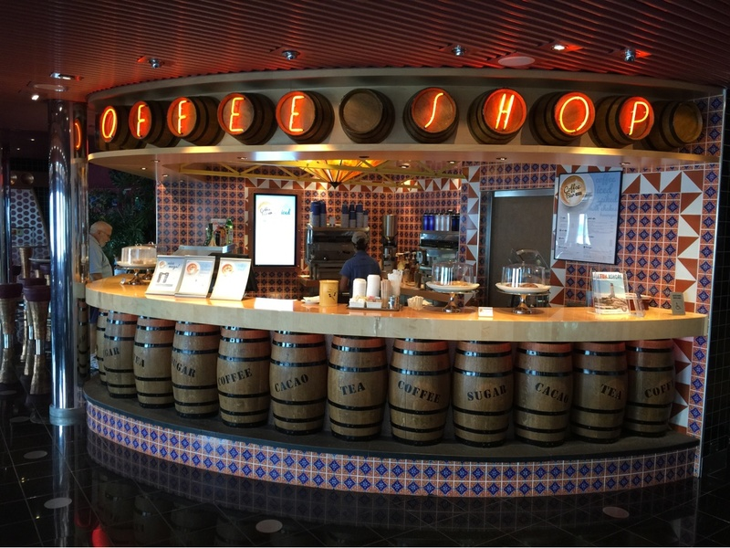Carnival Splendor, Dining, The Coffee Shop