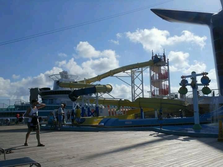 water slide - Carnival Fantasy