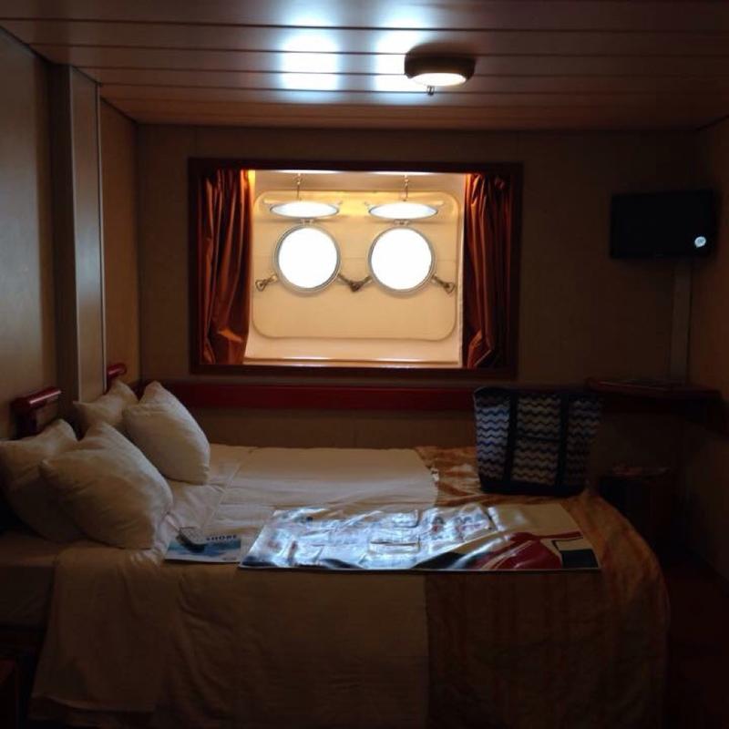 Carnival Sensation cabin M14