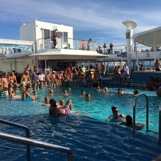 Pool on Norwegian Breakaway