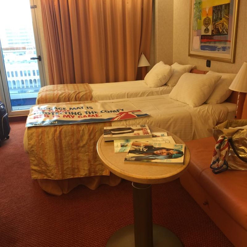 Balcony cabin 7430 on carnival liberty category 8b for All balcony cruise ship