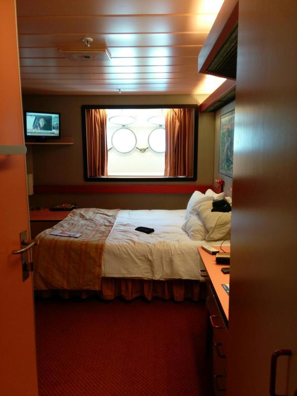 Porthole Stateroom on Carnival Elation