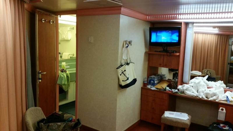 Carnival Glory cabin 6452