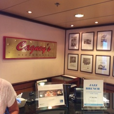 Cagney''s Steakhouse on Norwegian Dawn
