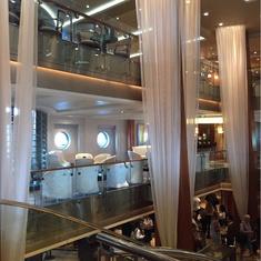 Grand Foyer on Celebrity Constellation