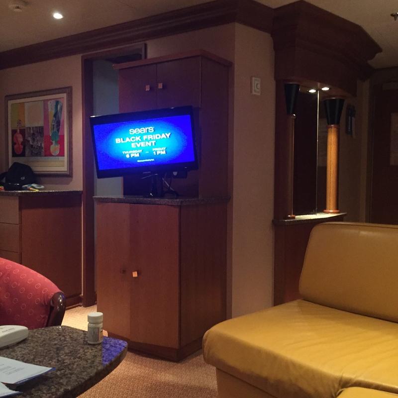 Carnival Liberty cabin 7299
