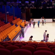 Center Ice Rink on Oasis of the Seas