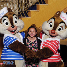 Chip and Dale with Kiki