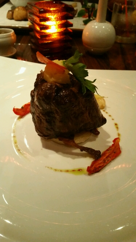 Filet Mignon from the Steakhouse - Carnival Magic