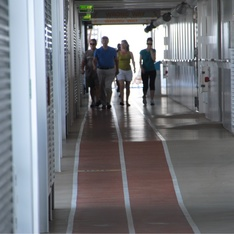 Jogging Track on Allure of the Seas