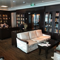 The Library on Norwegian Breakaway