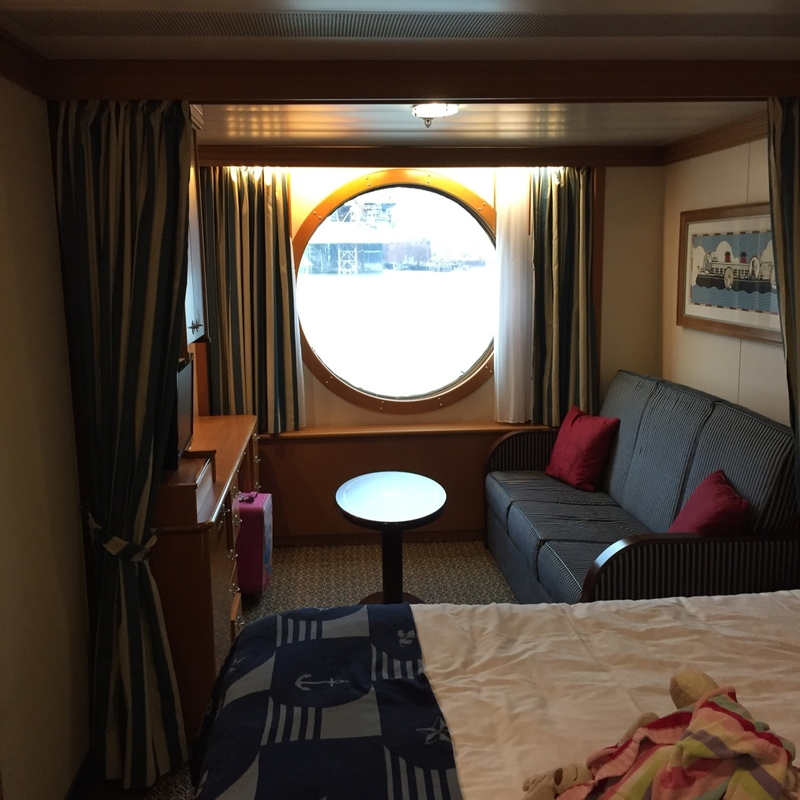 Oceanview Cabin 2094 On Disney Wonder Category 9z