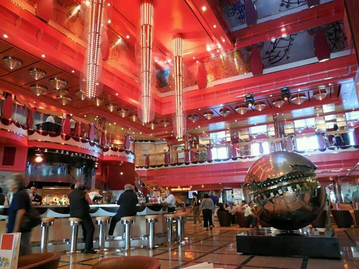 Atrium Bar on Costa Deliziosa